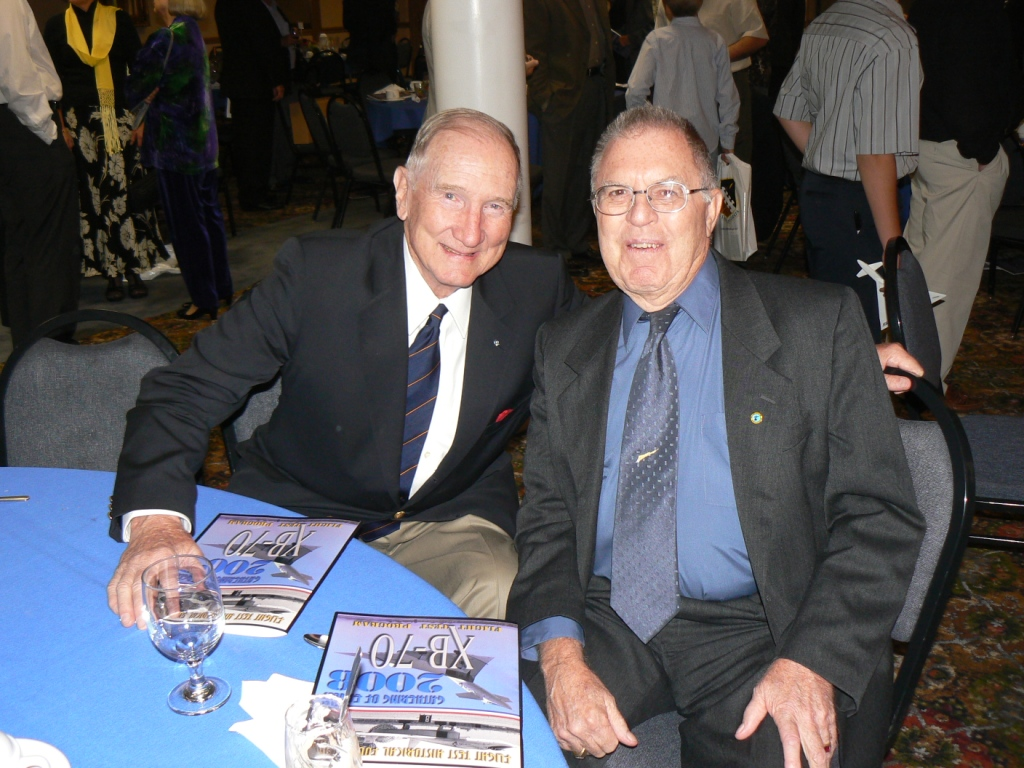Barnes and Bob Gilliland, 1st to fly the SR-71.