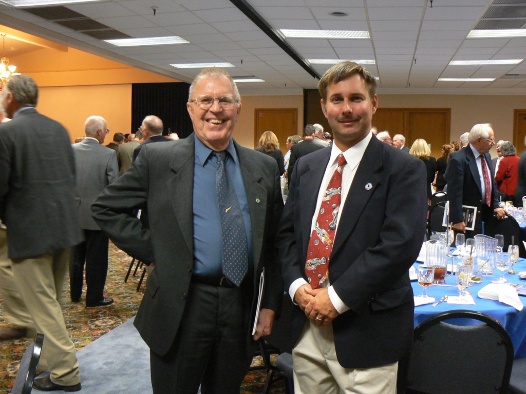 T. D. Barnes and Pete Merlin, NASA Historian