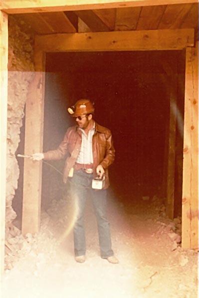 TD Barnes, President Geneva Minerals at company's uranium in Western Colorado
