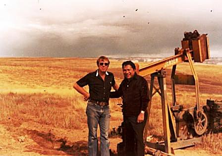 TD Barnes, President Barnes Petroleum Corporation and Norman Kaye - Grand County, Utah