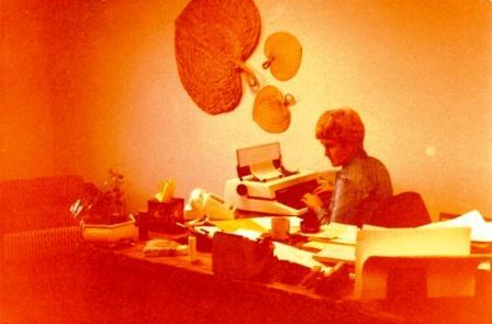 Doris Barnes, Barnes Petroleum Corporation - Grand Junction, Colorado 1980
