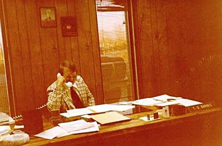 TD Barnes, President Barnes Petroluem Corporation - Grand Junction, Colorado 1980