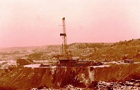 Barnes Petroleum Corporation near Casper, Wyoming