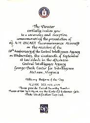 A-12 Dedication Invitation
