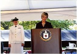 CIA Museum Director Toni Hiley
