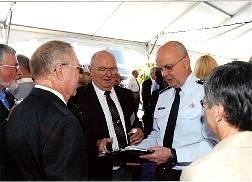 TD Barnes and CIA Director Hayden