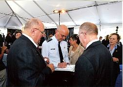 TD Barnes and CIA Director General Hayden