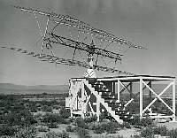 70 MH radar used for RCS tests at Groom Lake